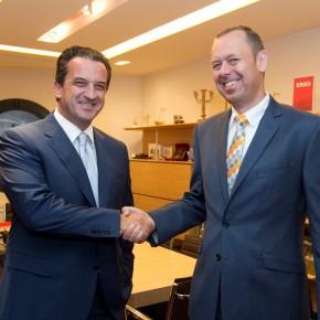 Θοδωρής Κοκκάλας και Dr. Torsten Oletzky