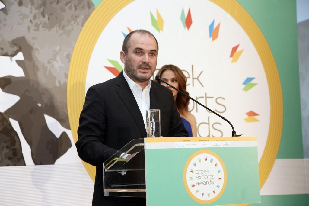 Greek Export Awards 2015_Γενικός Γραμματέας Ηλίας Ξανθάκος