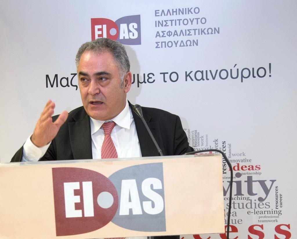 Γιάννης Χατζηθεοδοσίου, πρόεδρος του Επαγγελματικού Επιμελητηρίου Αθηνών