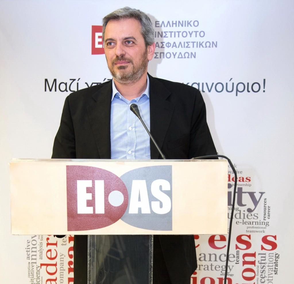 Δημήτρης Γαβαλάκης, Πρόεδρος της ΕΑΔΕ και μέλος του ΔΣ του ΕΙΑΣ