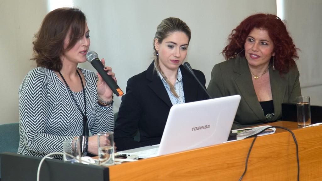 Σ. Βορίλα, Μ. Νταγαδάκη και Μ. Τσικογιαννοπούλου