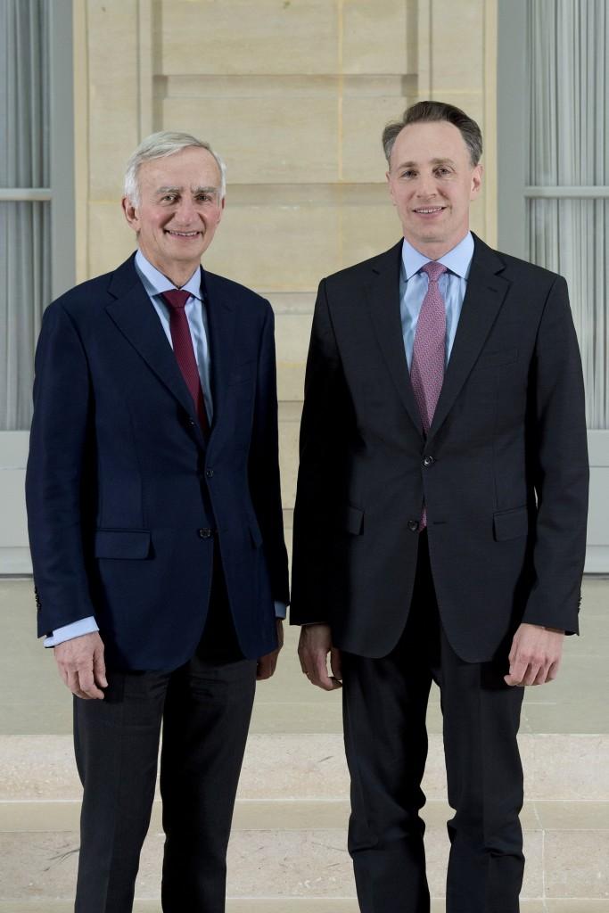 Denis Duverne, Thomas Buberl, AXA