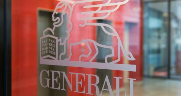 generali logo on door, λογότυπο, είσοδος γραφείων
