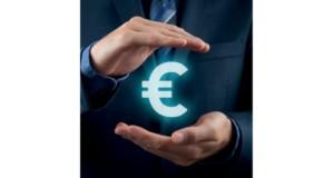 άνδρας, κοστούμι, ευρώ, πίστωση, κερδοφορία
