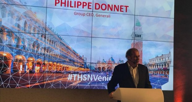 Genarali CEO Phillipe Donnet