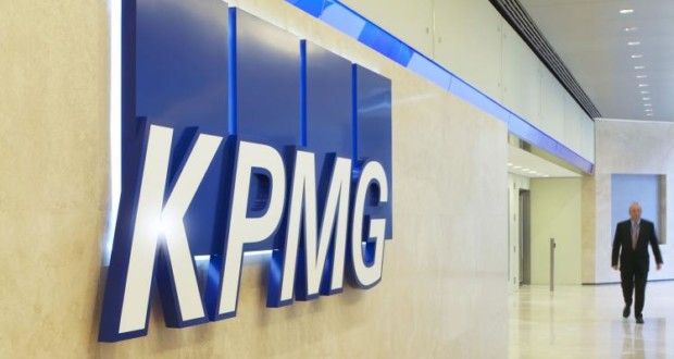 KPMG, λογότυπο στην υποδοχή