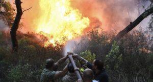 Φωτιά Πεντέλη Ιούλιος 2018