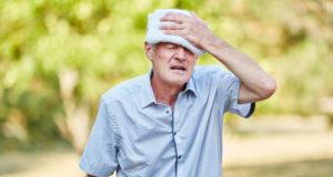 old man hyperthermia