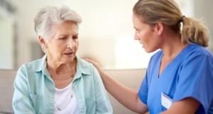 Αλτζχάιμερ, γυναίκα ασθενής, νοσοκόμα