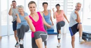 γυμναστική, ομάδα ανθρώπων, ήπια άσκηση