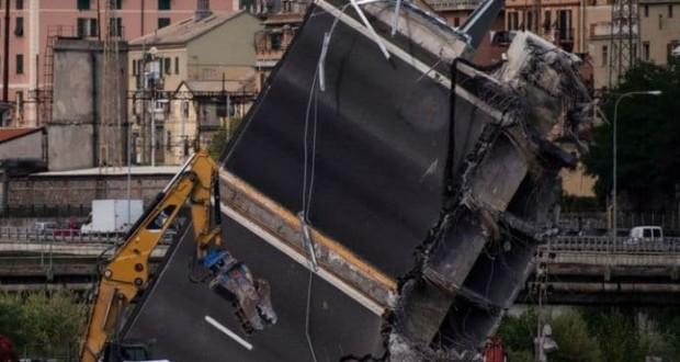 γέφυρα Morandi, Γένοβα, κατάρρευση