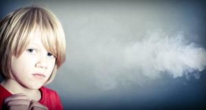 παιδί, καπνός τσιγάρου, παθητικό κάπνισμα