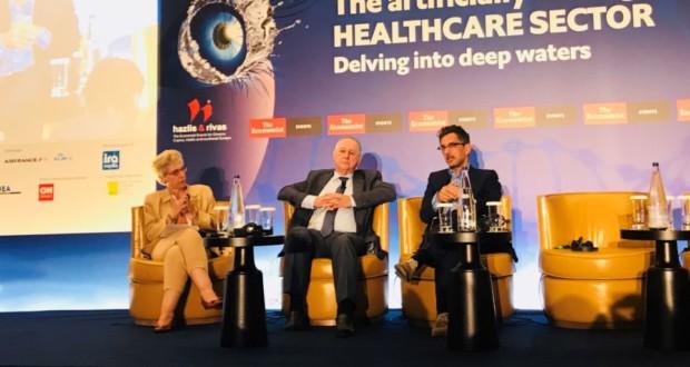 Καντώρος, Interamerican, πάνελ, Συνέδριο Economist, ασφάλιση υγείας