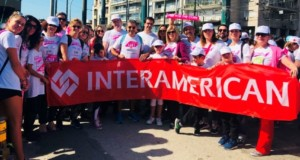Interamerican, Άλμα Ζωής, Greece Race for the Cure