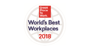 world's best workplaces 2018 logo