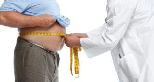 Παχύσαρκος ασθενής, γιατρός, μέτρηση, καρκίνος