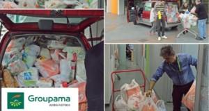 Groupama, συγκέντρωση τροφίμων για τα Παιδικά Χωριά SOS