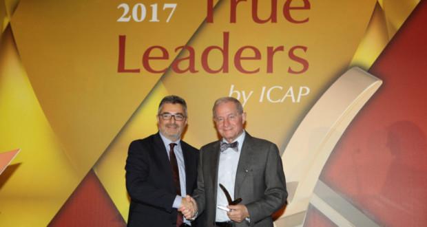 True Leaders, παραλαβή βραβείου Ευρωπαϊκής Πίστης, Χ. Γεωργακόπουλος