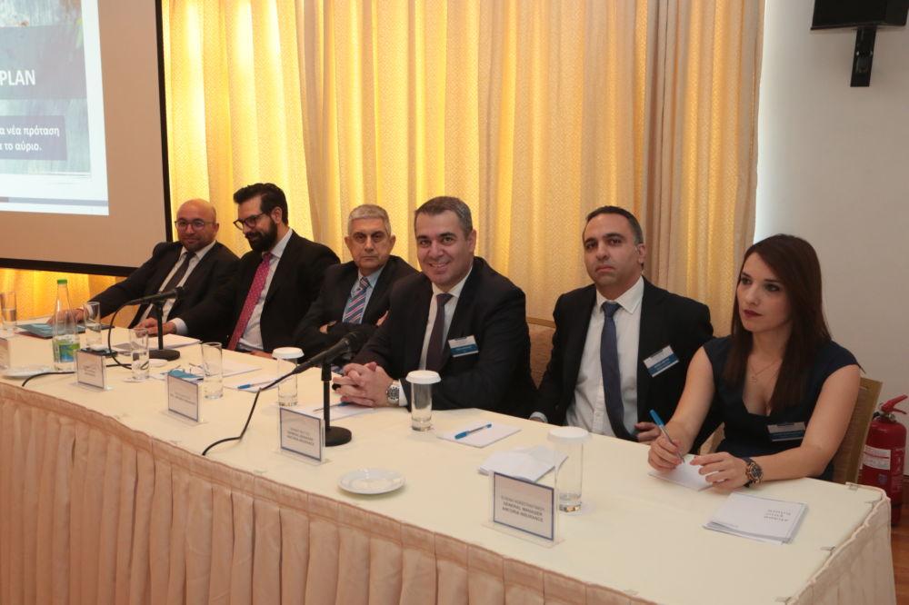Οι ομιλητές της εκδήλωσης της Ancoria Insurance στην Αθήνα