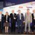 (από αριστερά προς τα δεξιά) Bruno Gabellieri, Secretary Gereral, European Association of Paritarian Institutions-Βασιλική Λαζαράκου, Δ.Ν. Πρόεδρος Επιτροπής Κεφαλαιοαγοράς- Gabriel Bernardino, Πρόεδρος της Ευρωπαϊκής Αρχής Ασφαλίσεων και Επαγγελματικών Συντάξεων- Ιωάννης Βρούτσης, Υπουργός Εργασίας και Κοινωνικών Υποθέσεων, Βουλευτής Κυκλάδων- Δρ Χρήστος Νούνης, Πρόεδρος ΔΣ., Ελληνική Ένωση Ταμείων Επαγγελματικής Ασφάλισης (ΕΛ.Ε.Τ.Ε.Α)-Κωνσταντίνος Ουζούνης, Γενικός Διευθυντής Ethos Media SA